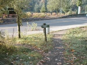 Marquam Trail continues toward the zoo.