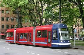 Trolley or street car