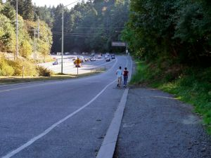 4T along the Highway 26 on-ramp