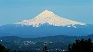 Mt. Hood as seen from Council Crest on the 4T.